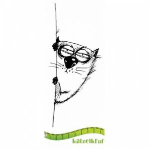 Katzelkraft Unmounted Rubber Stamp - Les Gros Chats 09 - SOLO80