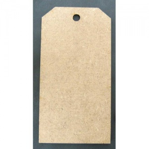 That's Crafty! Surfaces MDF Tags - Pack of 12 - #5