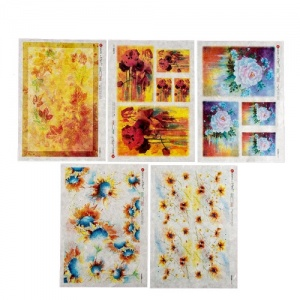 Paper Designs Rice Paper Collection - Flowers