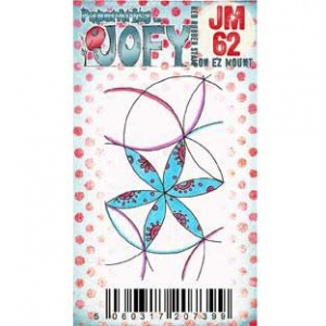 PaperArtsy Cling Mounted JOFY Collection Stamp - Mini JM62