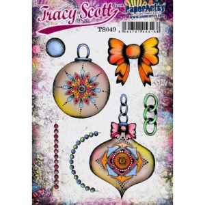 PaperArtsy Cling Mounted Stamp Set - Tracy Scott - ETS49