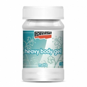 Pentart Heavy Body Gel - Matte - 100mls