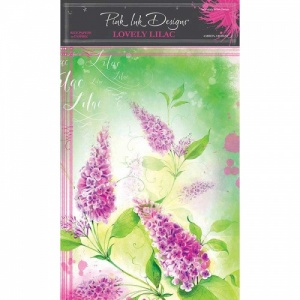 Pink Ink Designs A4 Rice Paper - Lovely Lilac