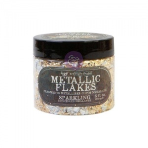 Prima Finnabair Art Ingredients Metal Flakes - Sparkling
