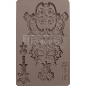 Prima Re-Design Décor Mould - Garden Emblem