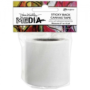 Dina Wakley Media Sticky Back Canvas Tape