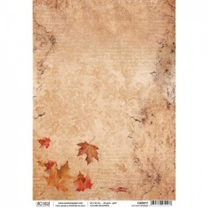 Ciao Bella Rice Paper - Autumn Whispers - Autumn Breeze - CBR017