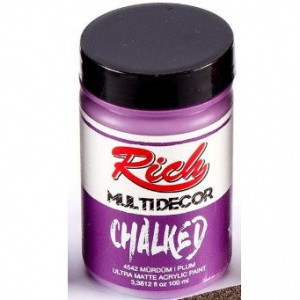 Rich Hobby Chalked Paint - Plum