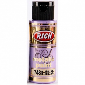 Rich Hobby Metallic Paint - Lilac