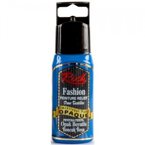 Rich Hobby Opaque Dimensional Paint - Blue
