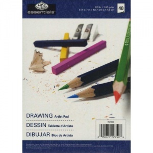Royal & Langnickel Essentials Drawing Artist Paper Pad - 5ins x 7ins