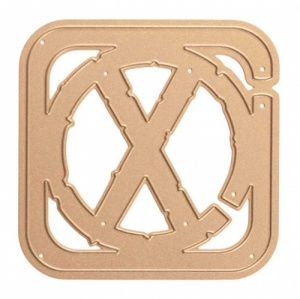 Spellbinders Shapeabilities Seth Apter Etched Die - Cross Bars