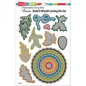 STAMPENDOUS! Die Cut Set - Build A Wreath