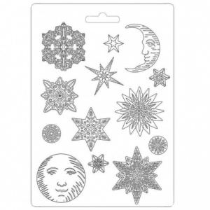 Stamperia A4 Soft Mould - Snowflakes