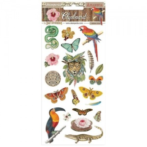 Stamperia Printed Chipboard - Amazonia
