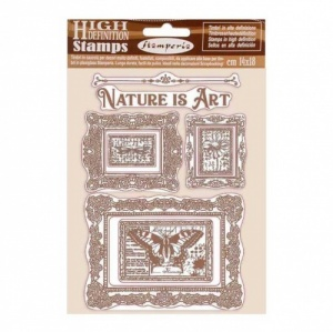 Stamperia Cling Mounted Stamp Set - Atelier des Arts - Nature is Art