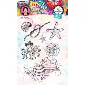 Studiolight Art by Marlene Clear Stamp Set #53 - Just Beachy