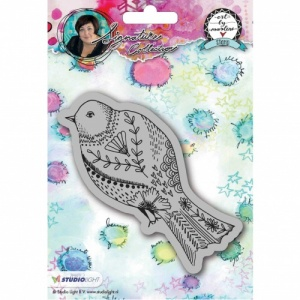 Studiolight Art by Marlene Cling Stamp #19 - Bird