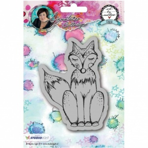 Studiolight Art by Marlene Cling Stamp #17 - Fox