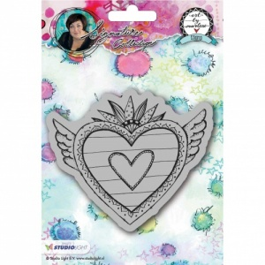 Studiolight Art by Marlene Cling Stamp Heart #24