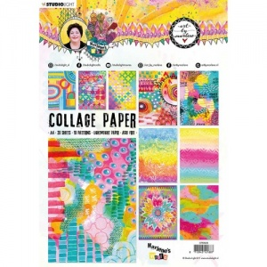 Studiolight Art by Marlene Collage Paper - Marlene's World - CPBM09