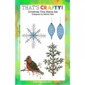 That's Crafty! Clear Stamp Set - Christmas Time