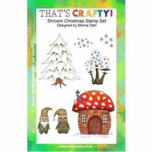 That's Crafty! Clear Stamp Set - Shroom Christmas