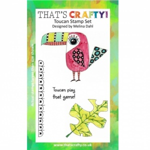 That's Crafty! A6 Clear Stamp Set - Toucan