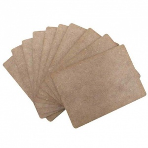 That's Crafty! Surfaces MDF ATC's - Pack of 10
