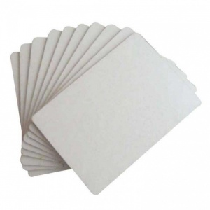 That's Crafty! Surfaces White/Greyboard ATC's - Pack of 10