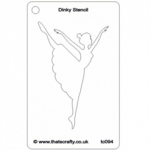 That's Crafty! Dinky Stencil - Dancer - TC094