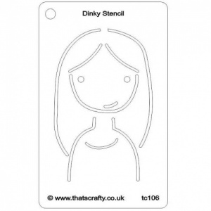 That's Crafty! Dinky Stencil - Maria - TC106