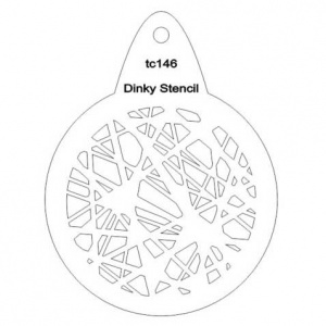 That's Crafty! Round Dinky Stencil - String 2 - TC146