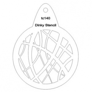 That's Crafty! Round Dinky Stencil - String - TC140
