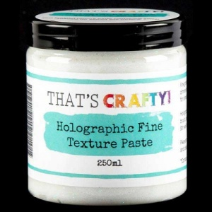 That's Crafty! Holographic Fine Texture Paste