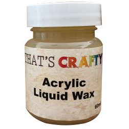 That's Crafty! Acrylic Liquid Wax - 60ml