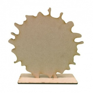 That's Crafty! Surfaces MDF Uprights - Splat - Pack of 3