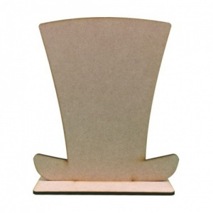 That's Crafty! Surfaces MDF Uprights - Top Hat - Pack of 5