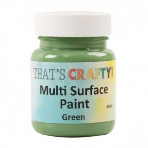 That's Crafty! Multi Surface Paint - Green