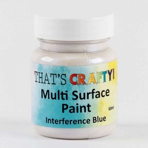 That's Crafty! Multi Surface Paint - Interference Blue