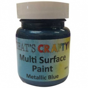 That's Crafty! Multi Surface Paint - Metallic Blue