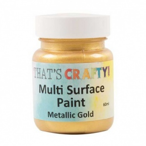 That's Crafty! Multi Surface Paint - Metallic Gold