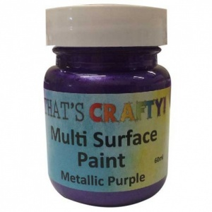 That's Crafty! Multi Surface Paint - Metallic Purple