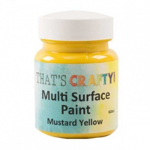 That's Crafty! Multi Surface Paint - Mustard Yellow