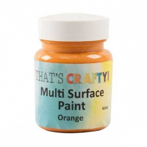That's Crafty! Multi Surface Paint - Orange