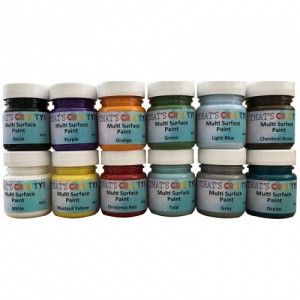 That's Crafty! Multi Surface Paint Set - 30ml Jars