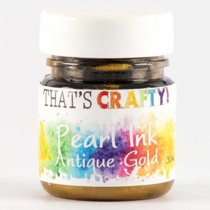 That's Crafty! Pearl Ink - Antique Gold