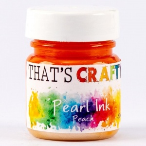 That's Crafty! Pearl Ink - Peach
