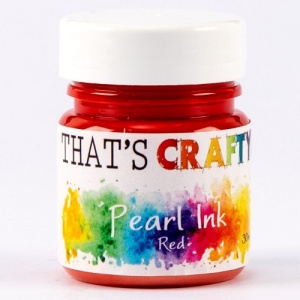 That's Crafty! Pearl Ink - Red