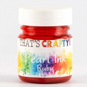 That's Crafty! Pearl Ink - Ruby